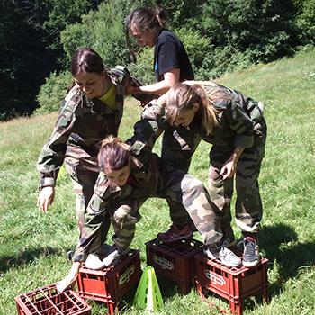 EVG EVJF La Clusaz Boot Camp