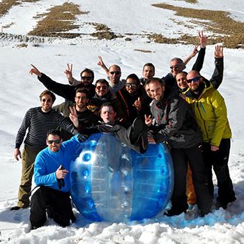 EVG EVJF La Clusaz Snow Party
