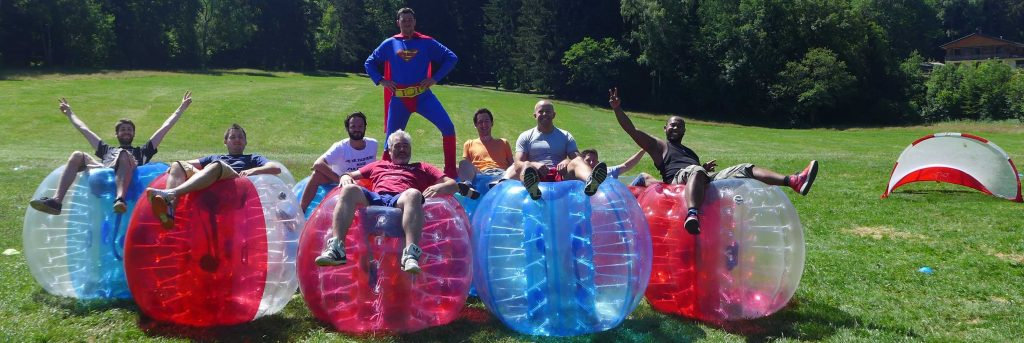 Equipe bubble foot
